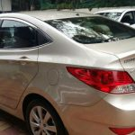 Hyundai verna back side
