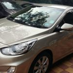 Hyundai verna side