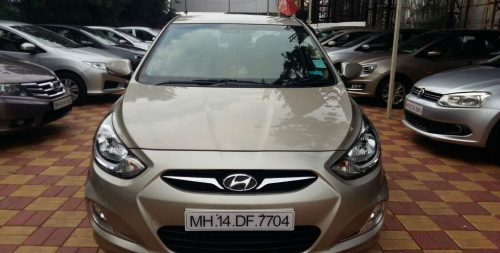Hyundai Verna used car in Pune, Maharashtra, India – 2012 model Petrol car