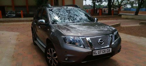 Nissan Terrano used car in HMT Colony, Kalamassery, Ernakulam, Kerala, India