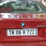 BMW 3 series back