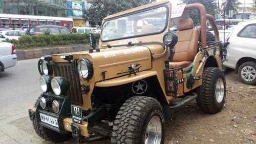 Willys Jeep used car in Jeevan Nagar, Andheri West, Mumbai, Maharashtra, India