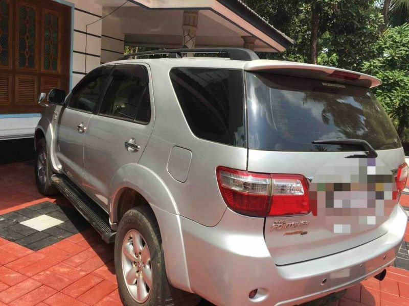 Toyota Fortuner Used Car In Alappuzha Kerala India