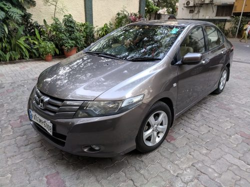 1.5 V Automatic transmission Grey Honda City 2011 model for sale in Mumbai